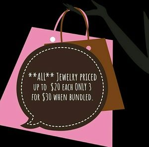 Jewelry - Special **ALL** Jewelry up to $20 NOW 3 for $30